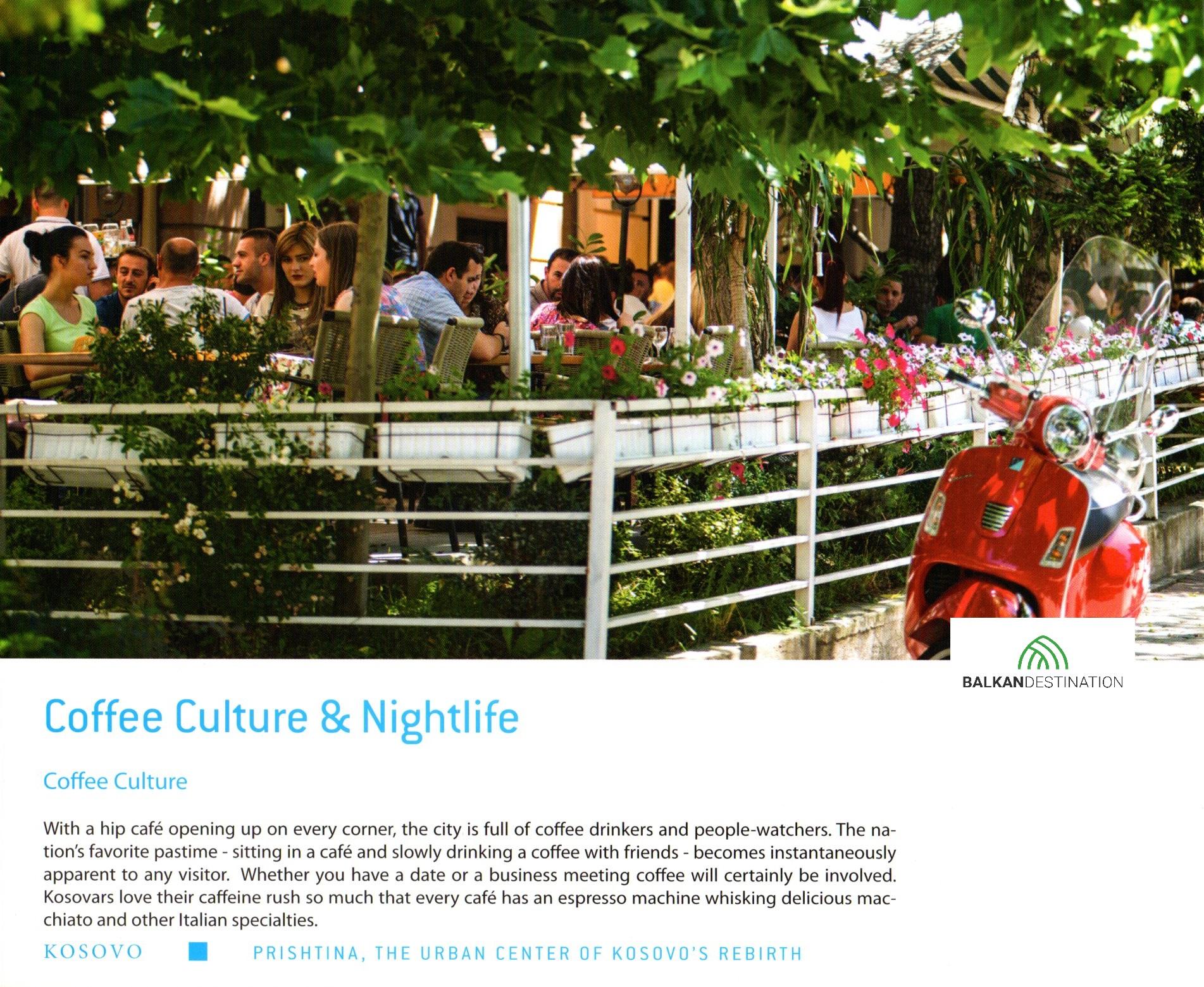 balkandestination pristina kosovo coffe culture